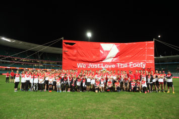 On the Field | Sydney Swans Corporate Day | Jason McCormack Photography