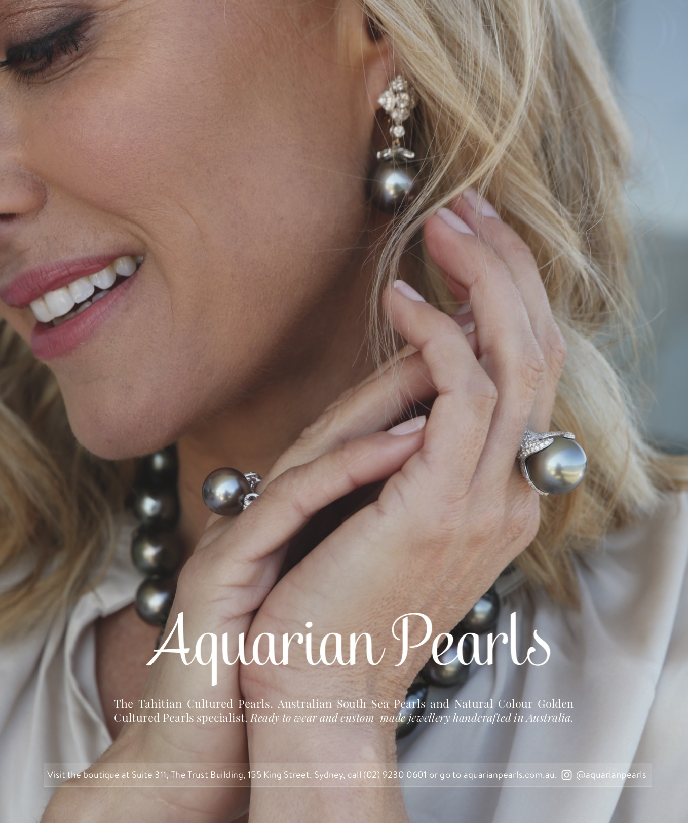 Acquarian Pearls for Vogue Magazine