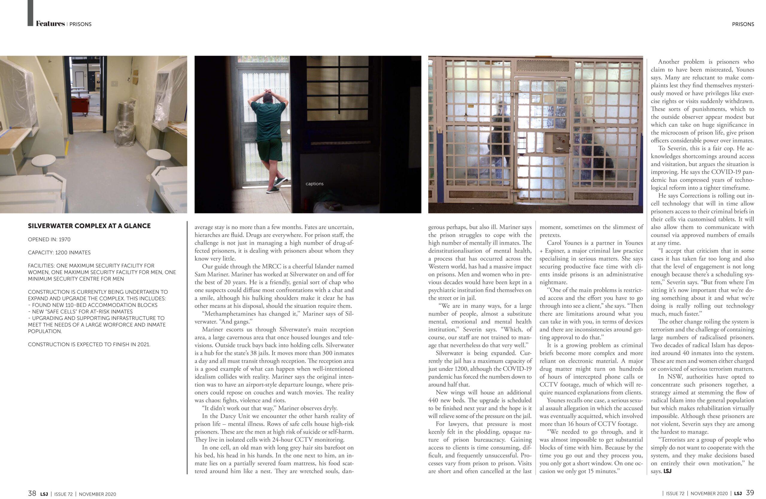 Silverwater Prison Editorial
